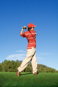 academia de golf con inglés